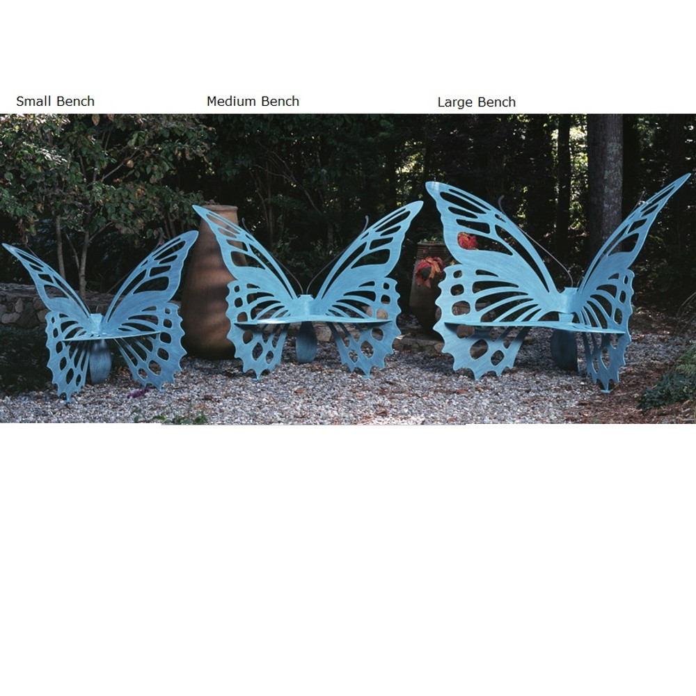 Butterfly Bench Large | Cricket Forge | B002-004 -4