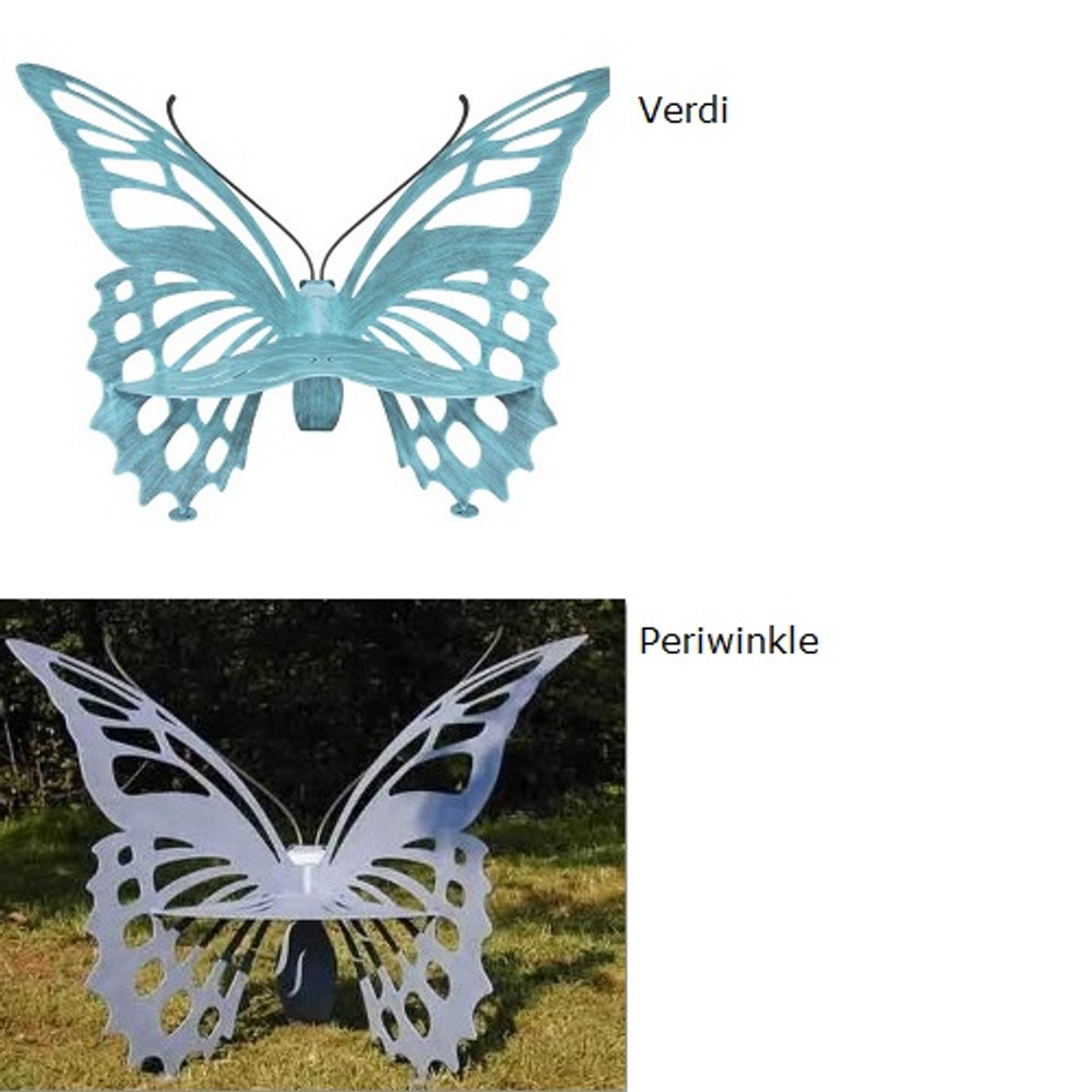Butterfly Bench Small | Cricket Forge | B003-006 -3