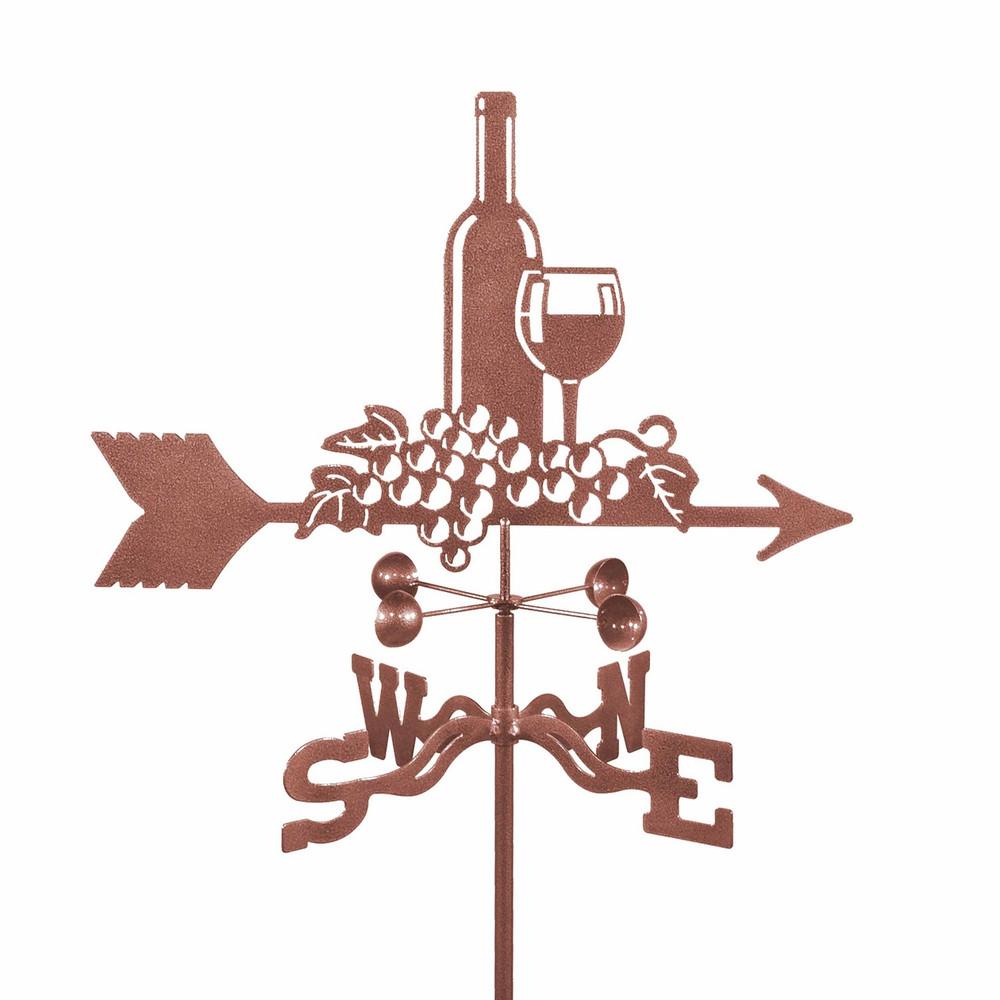 Wine and Grapes Weathervane | EZ Vane | ezvWineandGrapes