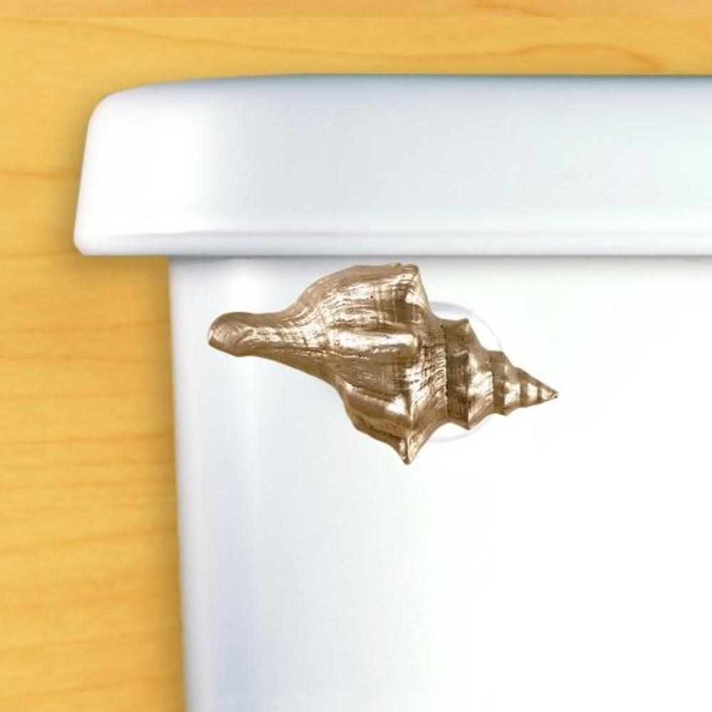 Seashell Toilet Flush Handle | Functional Fine Art | ffa00102