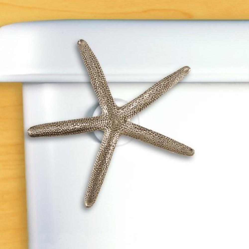 Starfish Toilet Flush Handle   Functional Fine Art   ffa00110