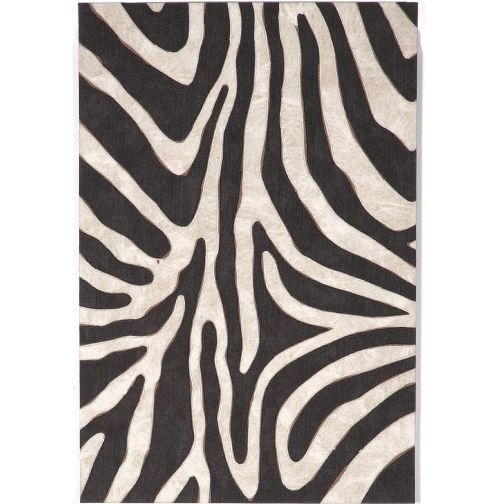 Safari Zebra Indoor Outdoor Area Rug   Trans Ocean   TOG3043