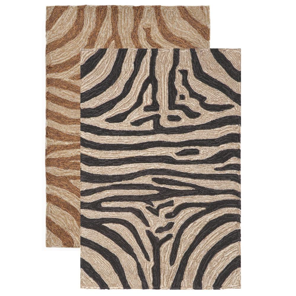 Zebra Print 7' x 9' Area Rug | Trans Ocean | TOGRVL71203348