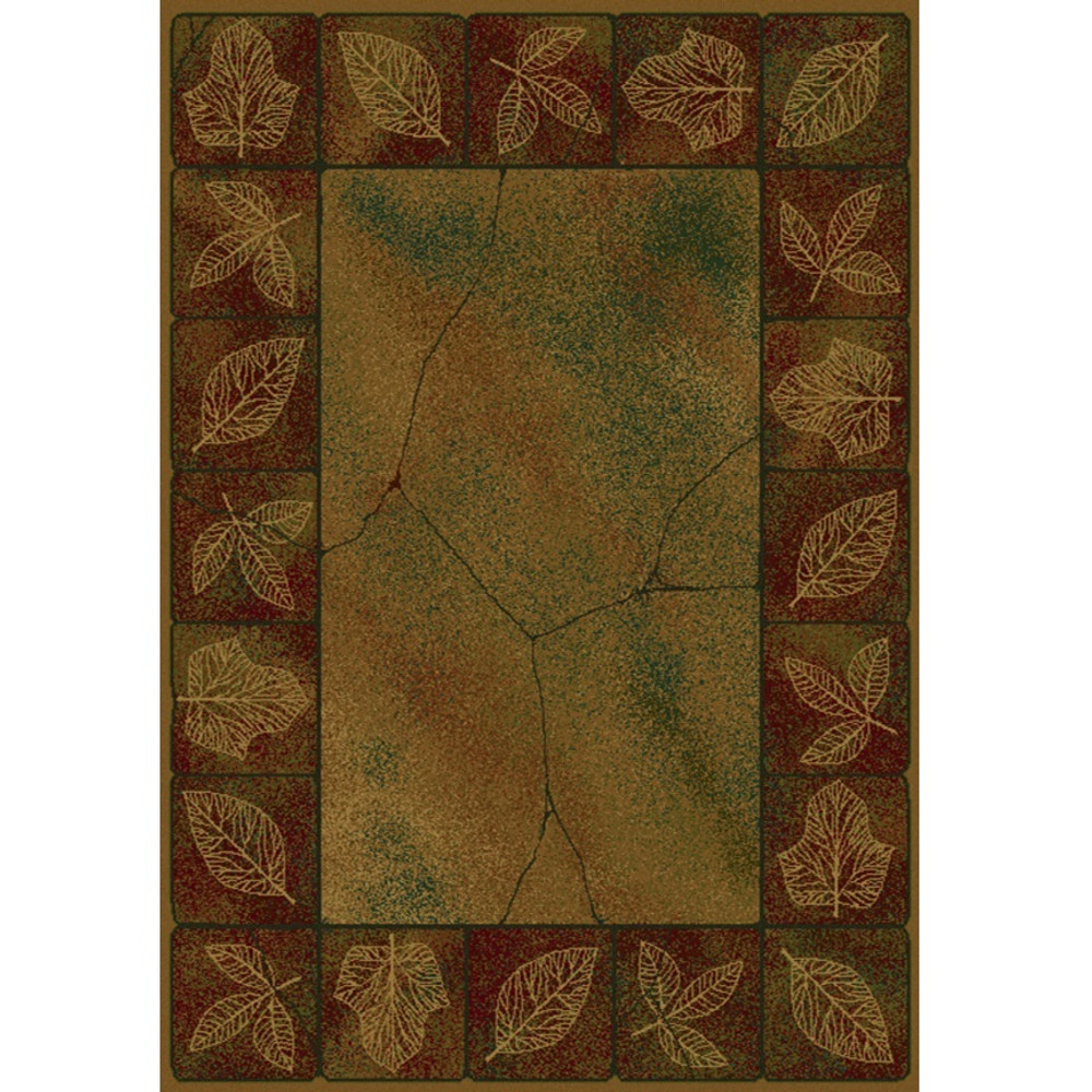 Sephora Gold Leaves Area Rug | United Weavers | UW530-20934
