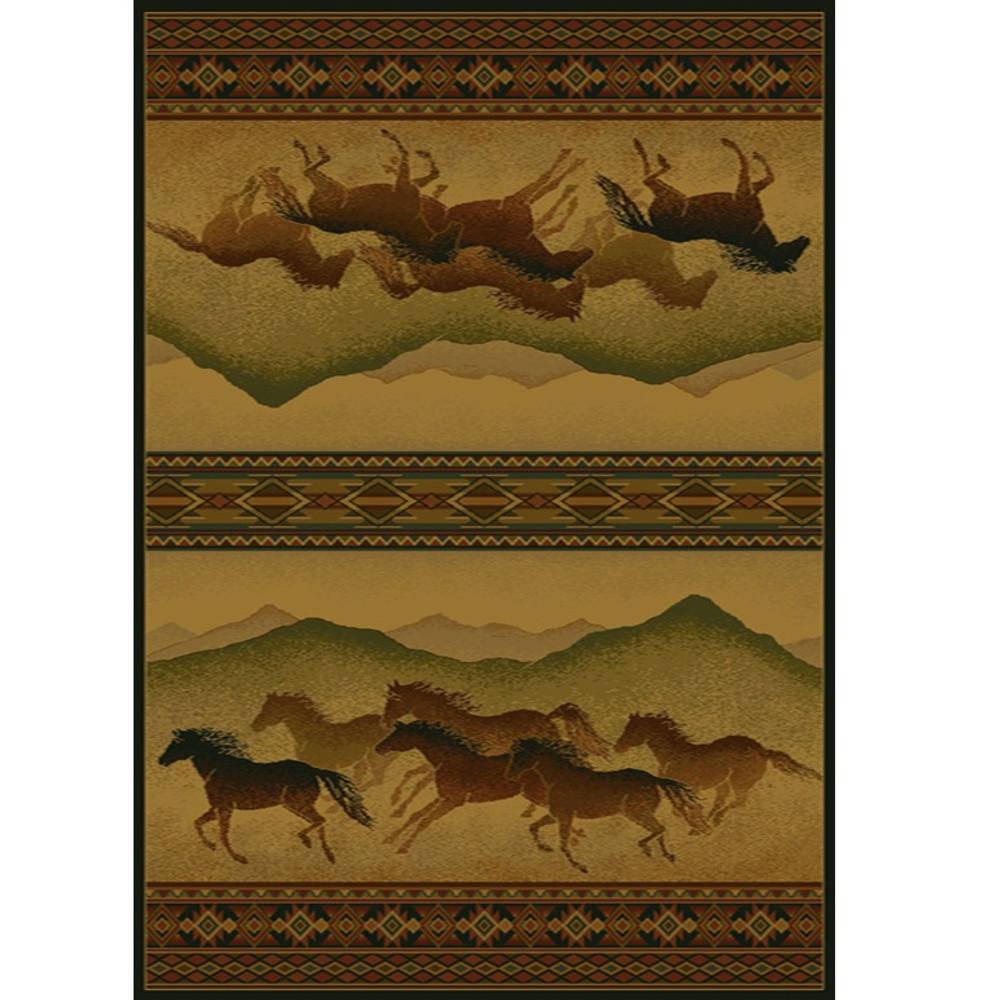 Horse Area Rug Chestnut Mare Lodge | United Weavers | UW530-52543