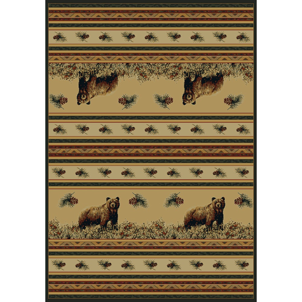 Bear Pine Creek Area Rug | United Weavers | UW533-11017