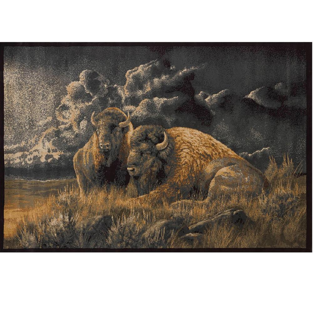 Distant Thunder Bison Area Rug | United Weavers | UW535-49017