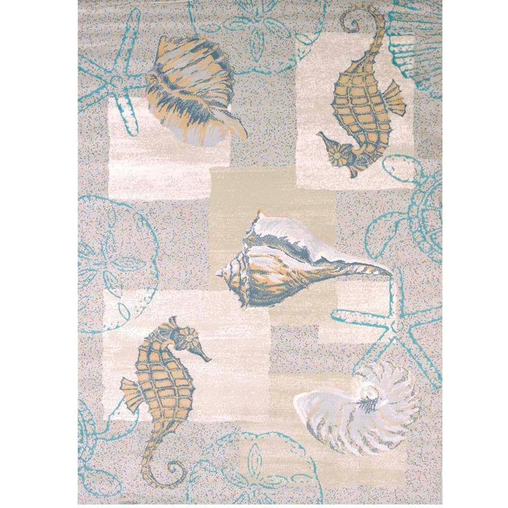 Starfish Sealife Area Rug Mystic Sea   United Weavers   UW595-40317-5 x 7