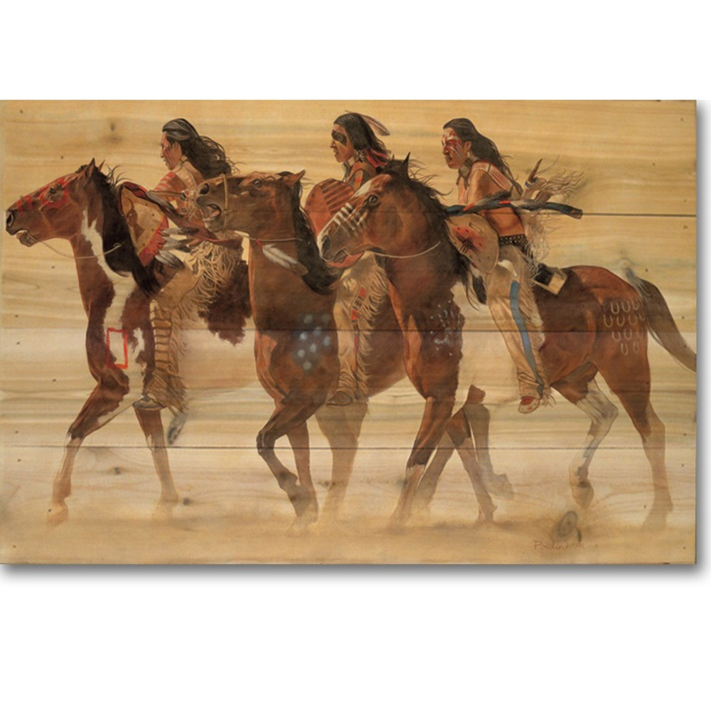 "Horse Wood Wall Art 'Heartbeats & Hoofbeats"" | Wood Graphixs | WGIHH2416"