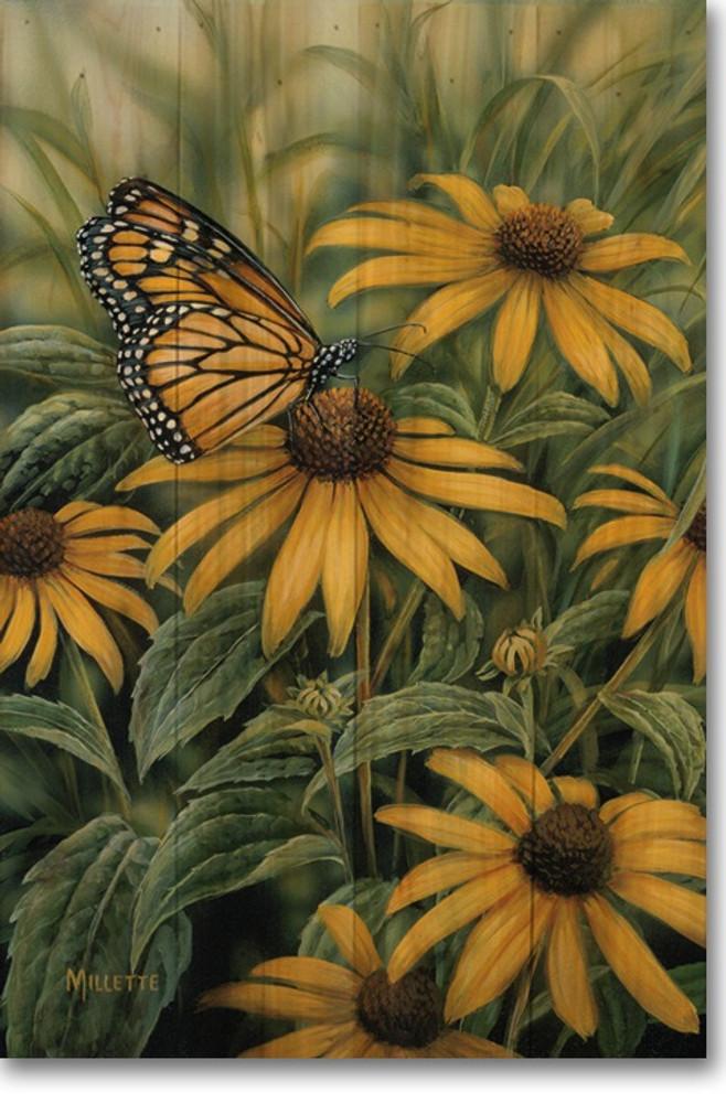 Monarch Butterfly Wood Wall Art   Wood Graphixs   WGIMB2416