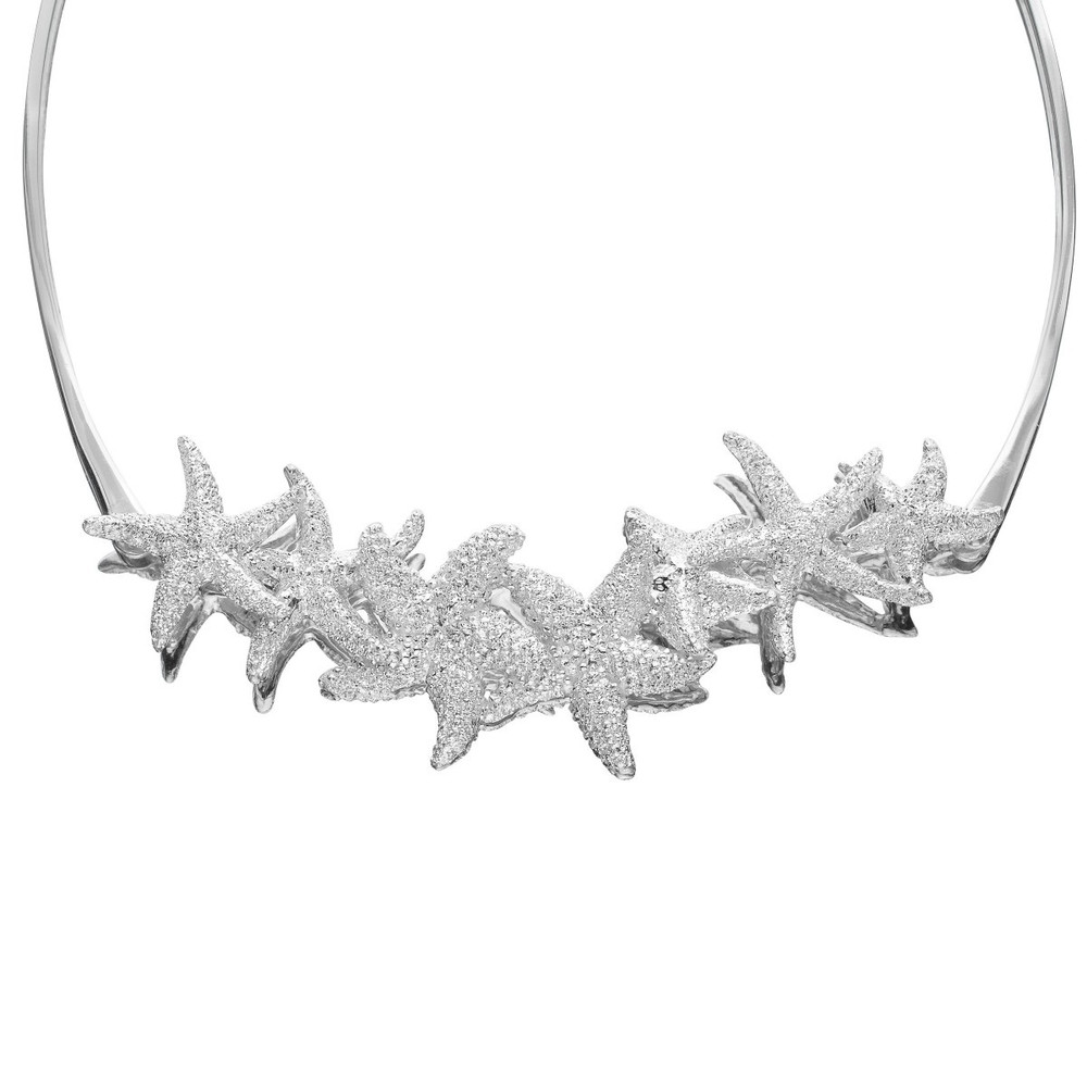 Starfish Sterling Silver Necklace | Kabana Jewelry | KP583