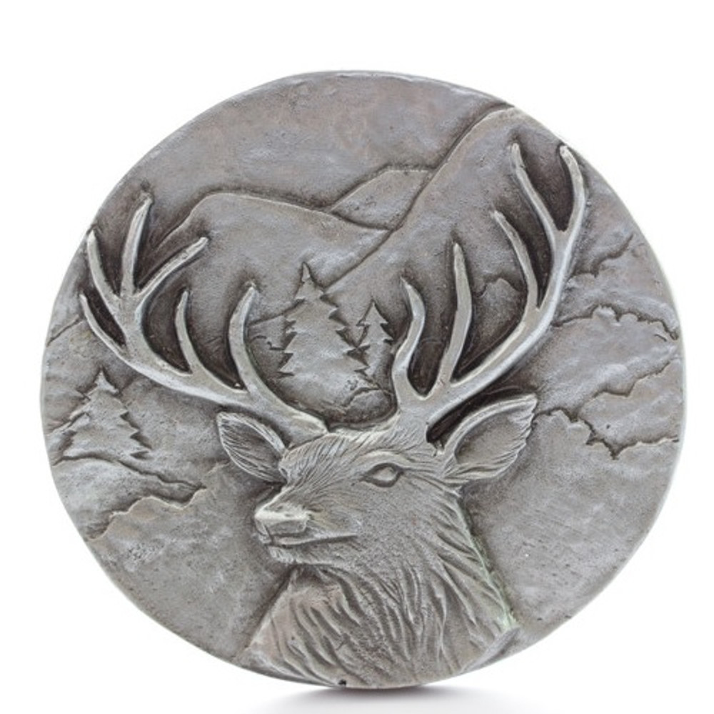 Deer Grille Ornament |Grillie | GRIdeerap
