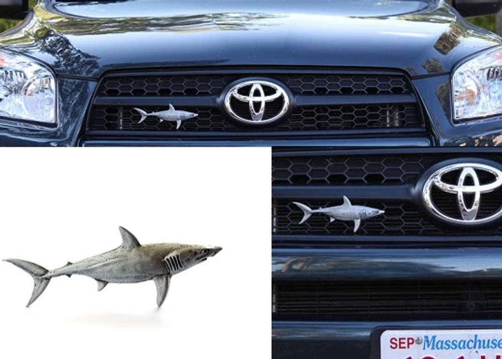 Shark Grille Ornament |Grillie | GRIsharkap -3