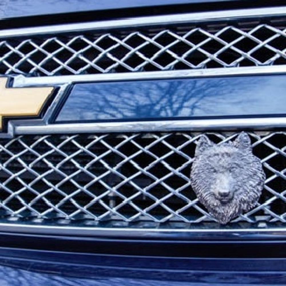 Wolf Grille Ornament |Grillie | GRIwolfap -2