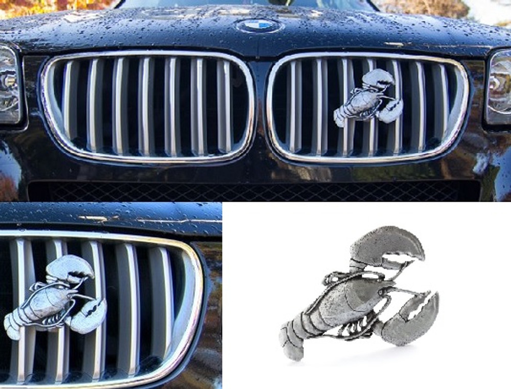 Lobster Grille Ornament |Grillie | GRIlobsterap -3
