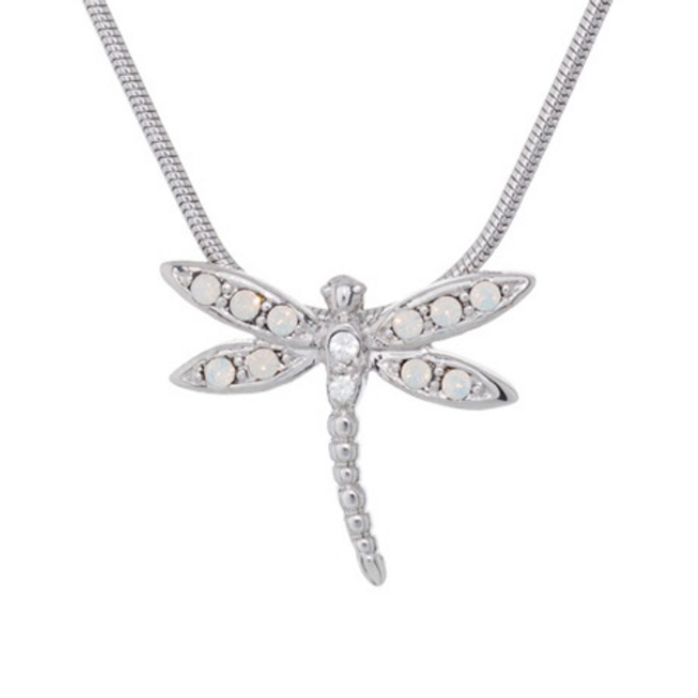 Dragonfly Pendant Necklace Take Flight | Annaleece Jewelry | 1268