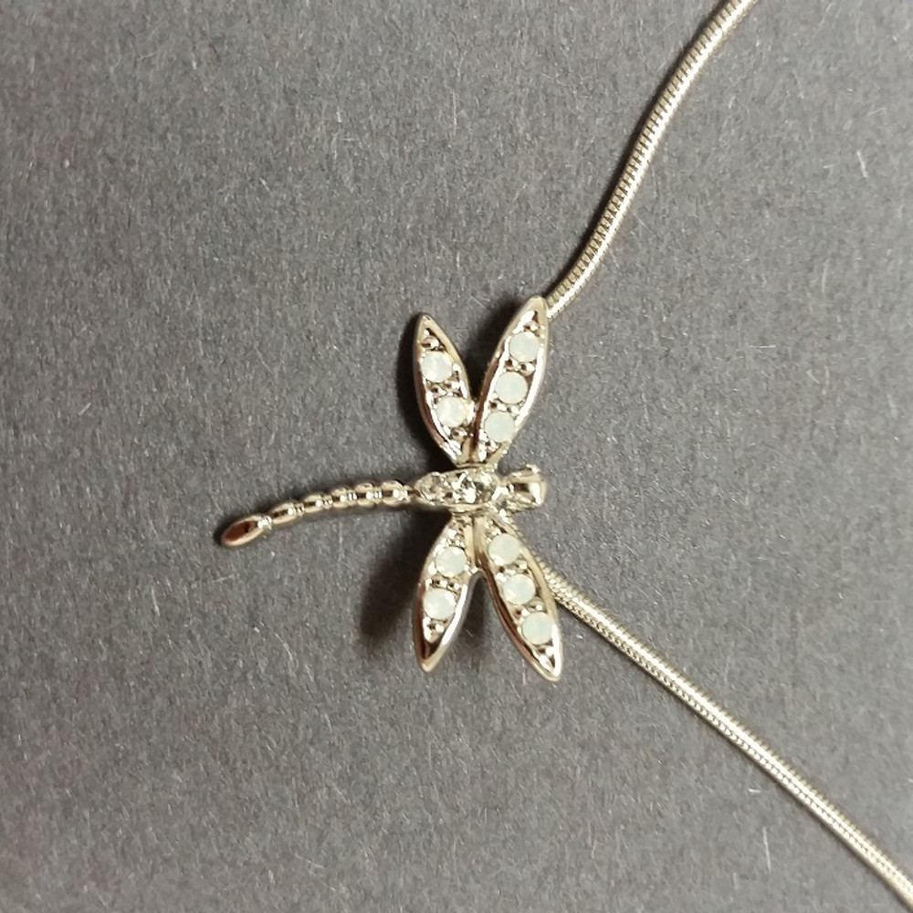 Dragonfly Pendant Necklace Take Flight | Annaleece Jewelry | 1268 -3
