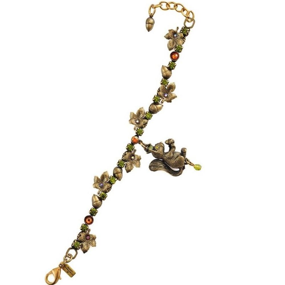 Squirrel Charm Bracelet | La Contessa Jewelry | LCBR9251