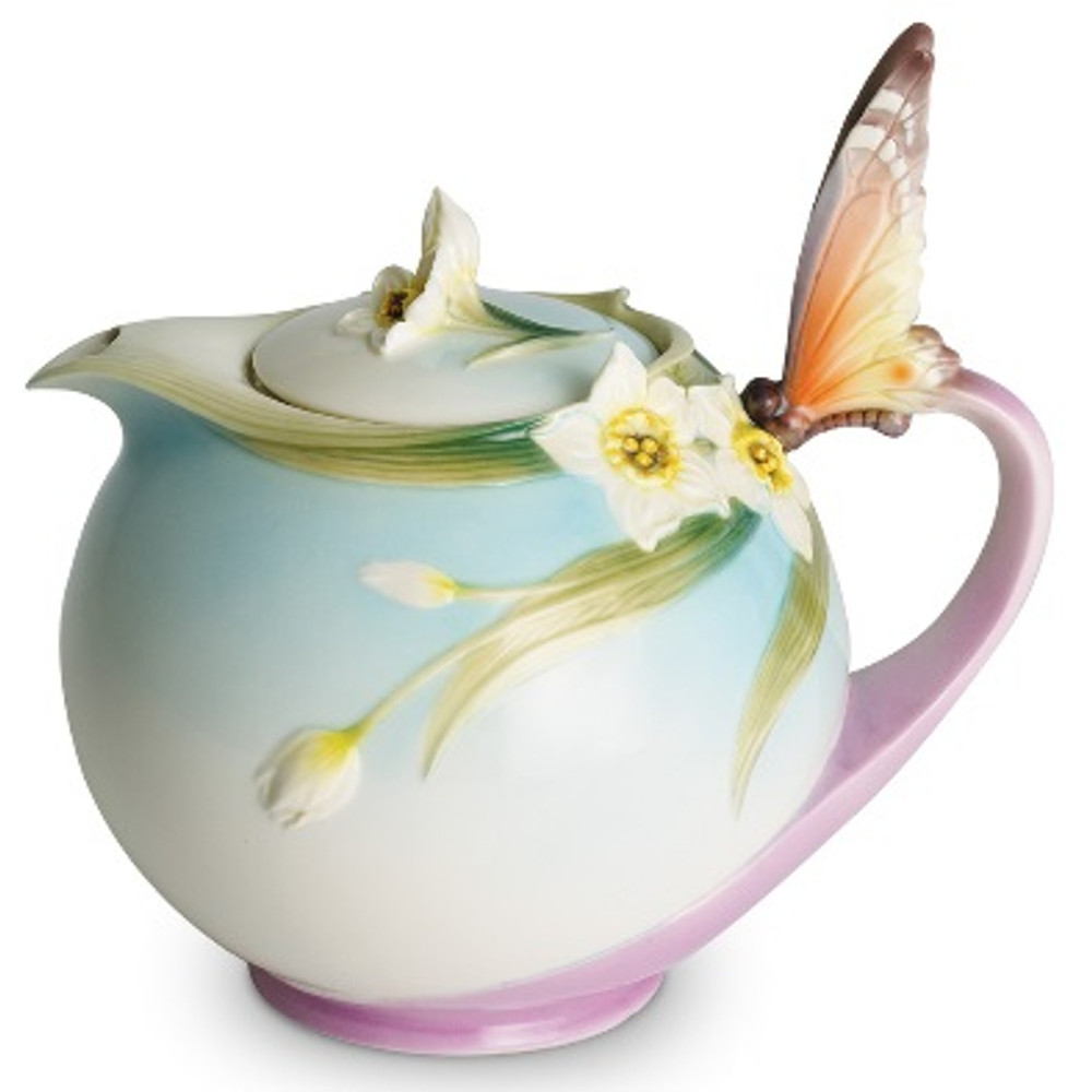 Butterfly Teapot | xp1878 | Franz Porcelain Collection -2