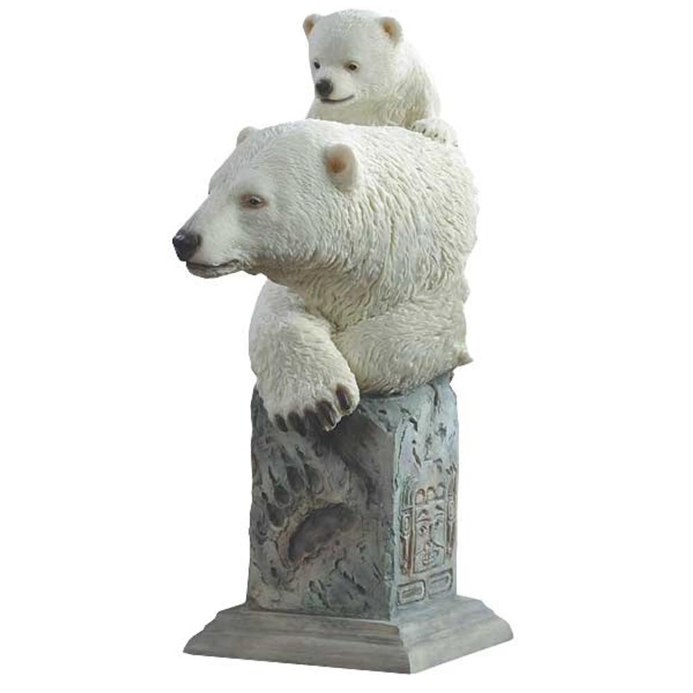 "Polar Bears Sculpture ""Snow Cone"" | Mill Creek Studios | 6567385275"
