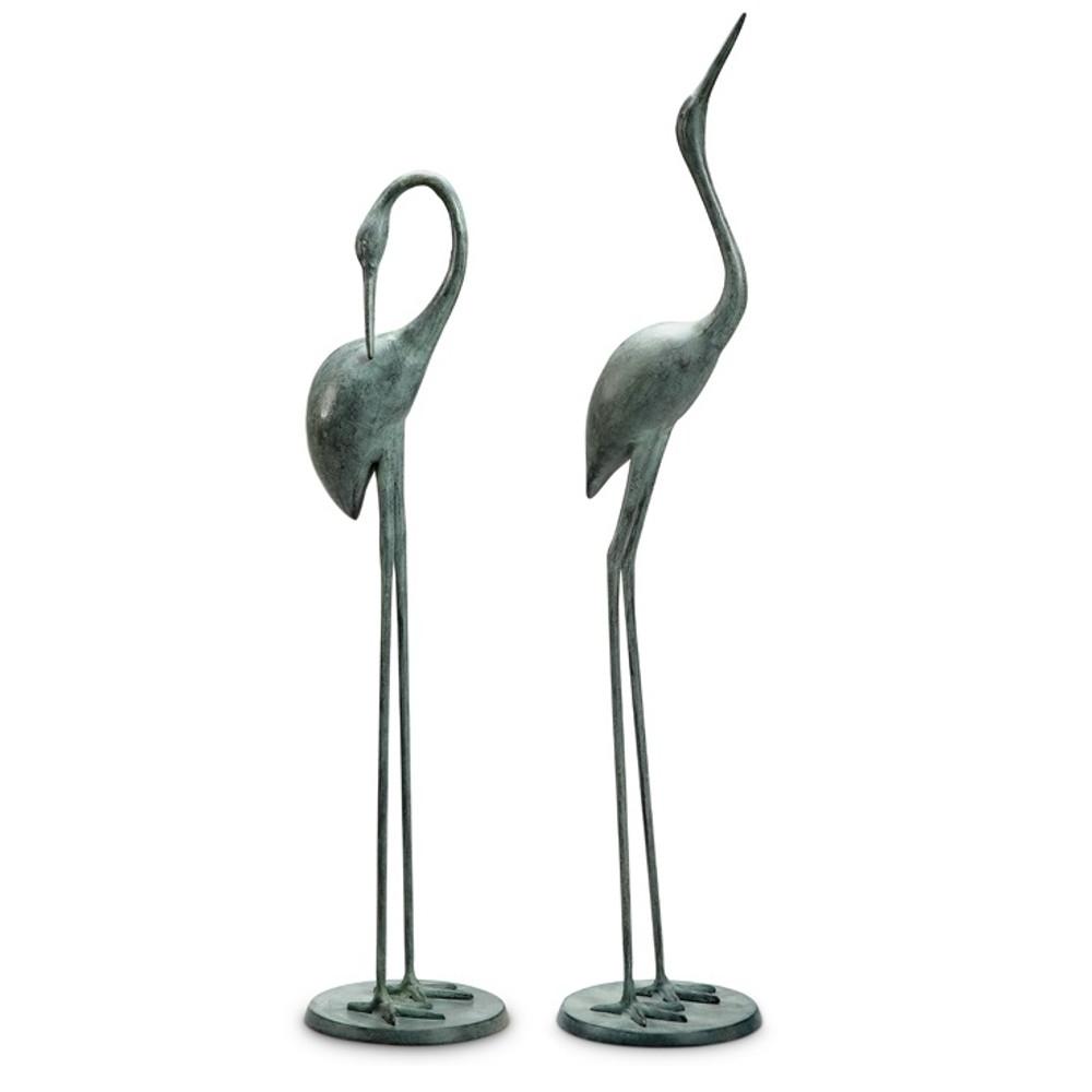 Crane Garden Pair Sculpture | 34280 | SPI Home