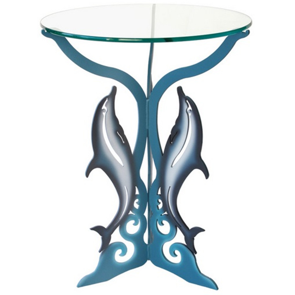 Dolphin Glasstop Table | Cricket Forge | T017