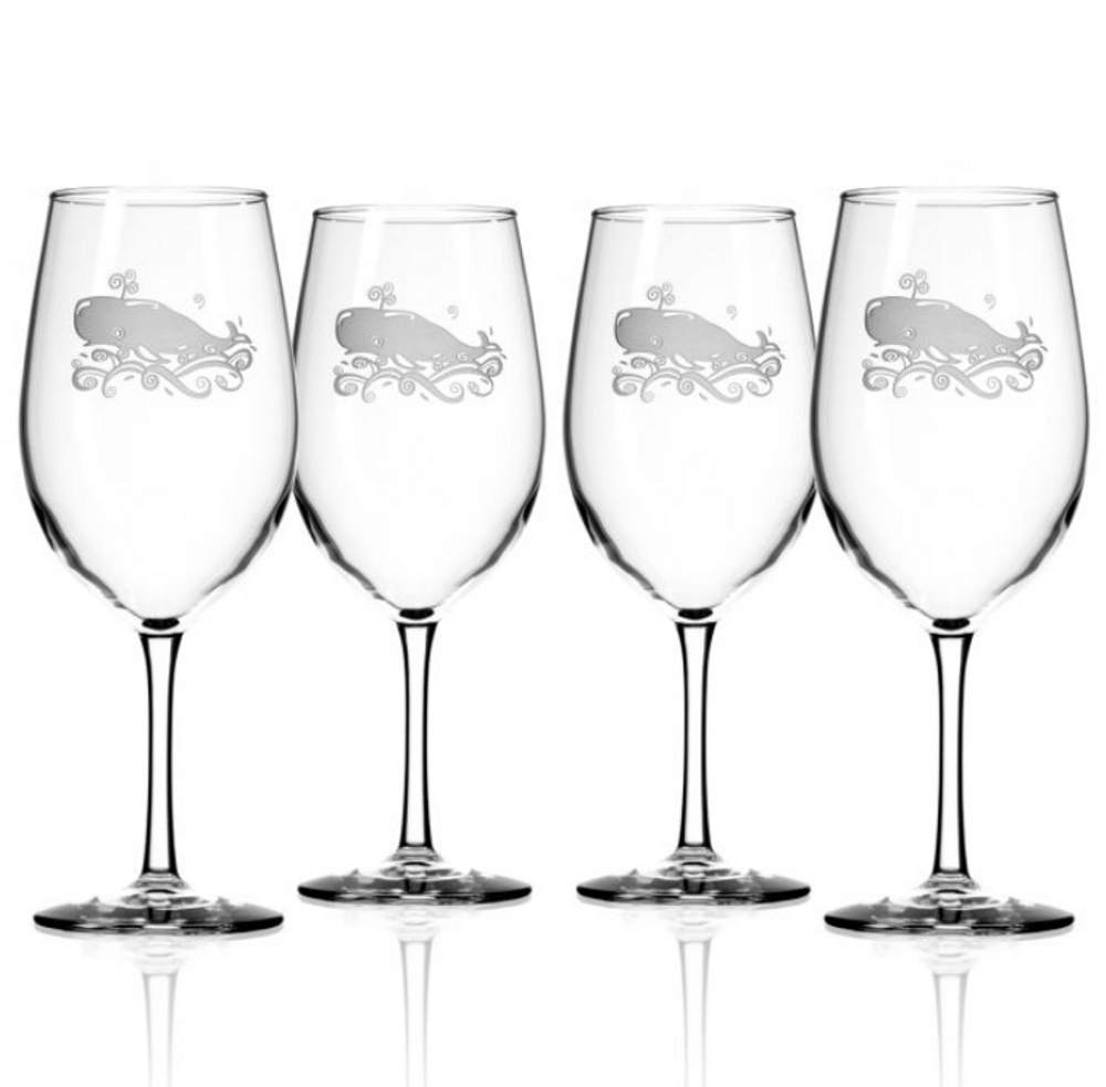 Whale AP Large Wine Glass Set of 4 | Rolf Glass | 237268