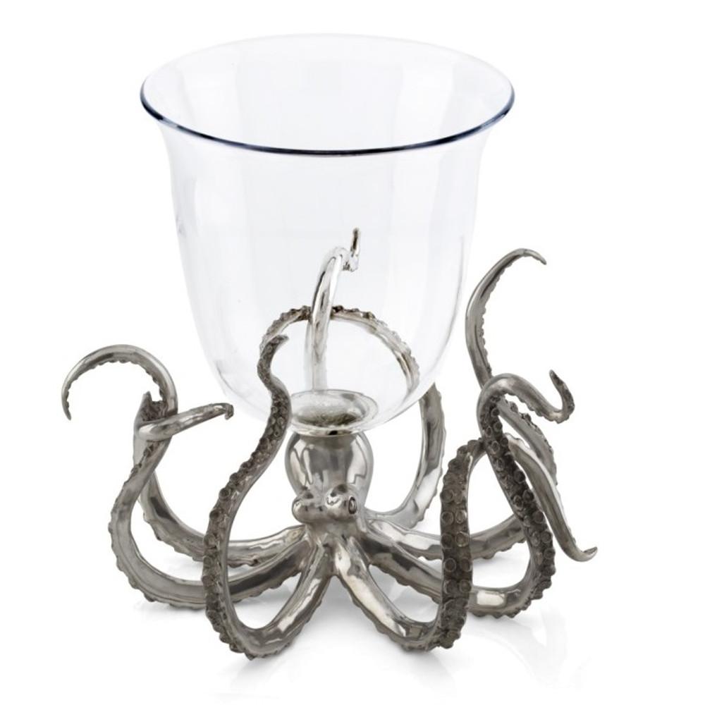 Octopus Glass Ice Bucket   Vagabond House   O421O