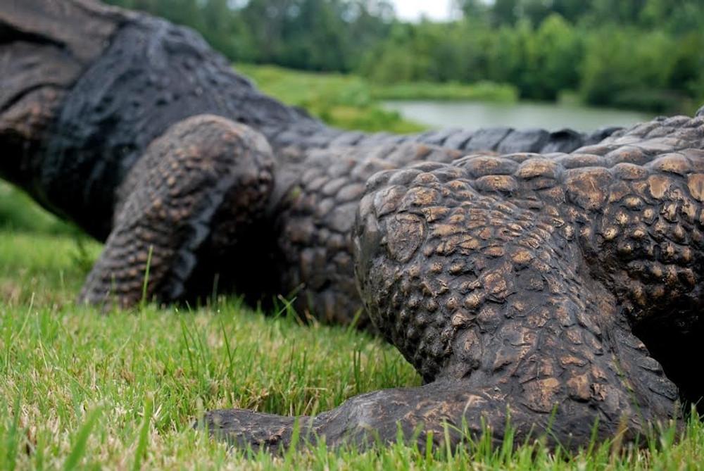 Large Alligator Bronze Fountain Statue | Metropolitan Galleries | SRB702223 -2