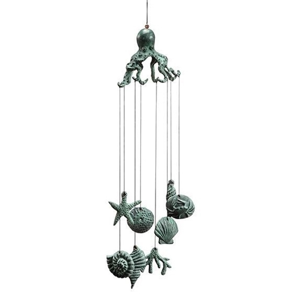 Octopus Wind Chime | 50945 | SPI Home