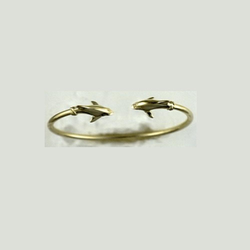 Dolphin 14K Gold Bracelet | Kabana Jewelry | KBR046