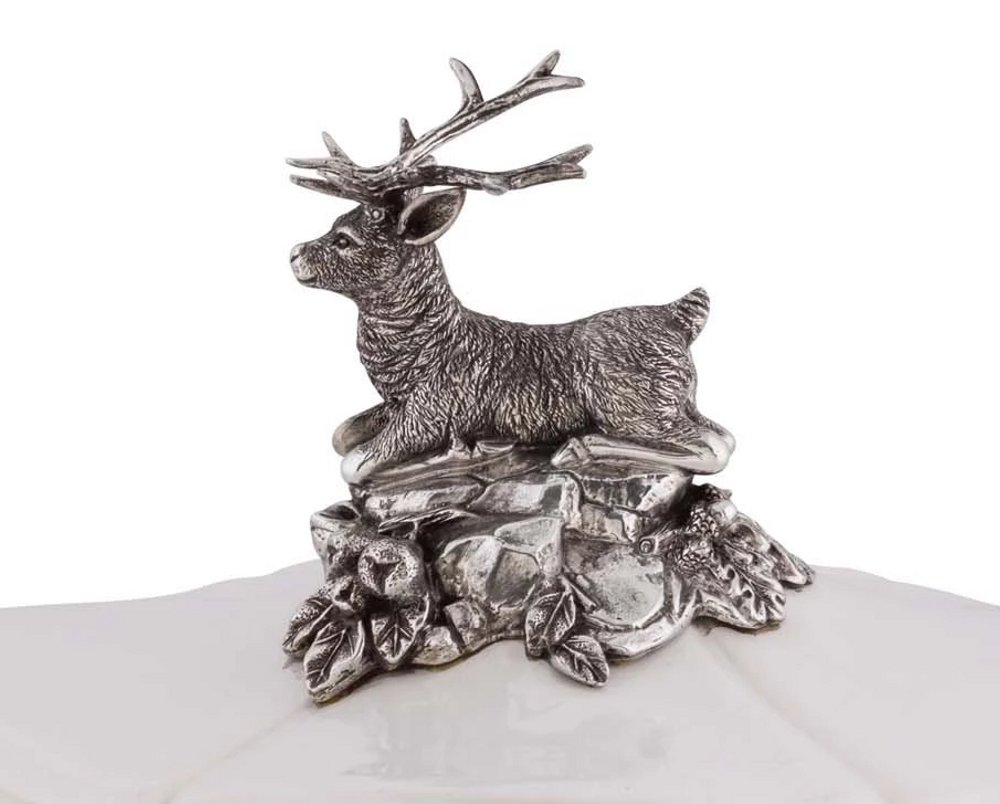 Deer Soup Tureen | Vagabond House | C421A