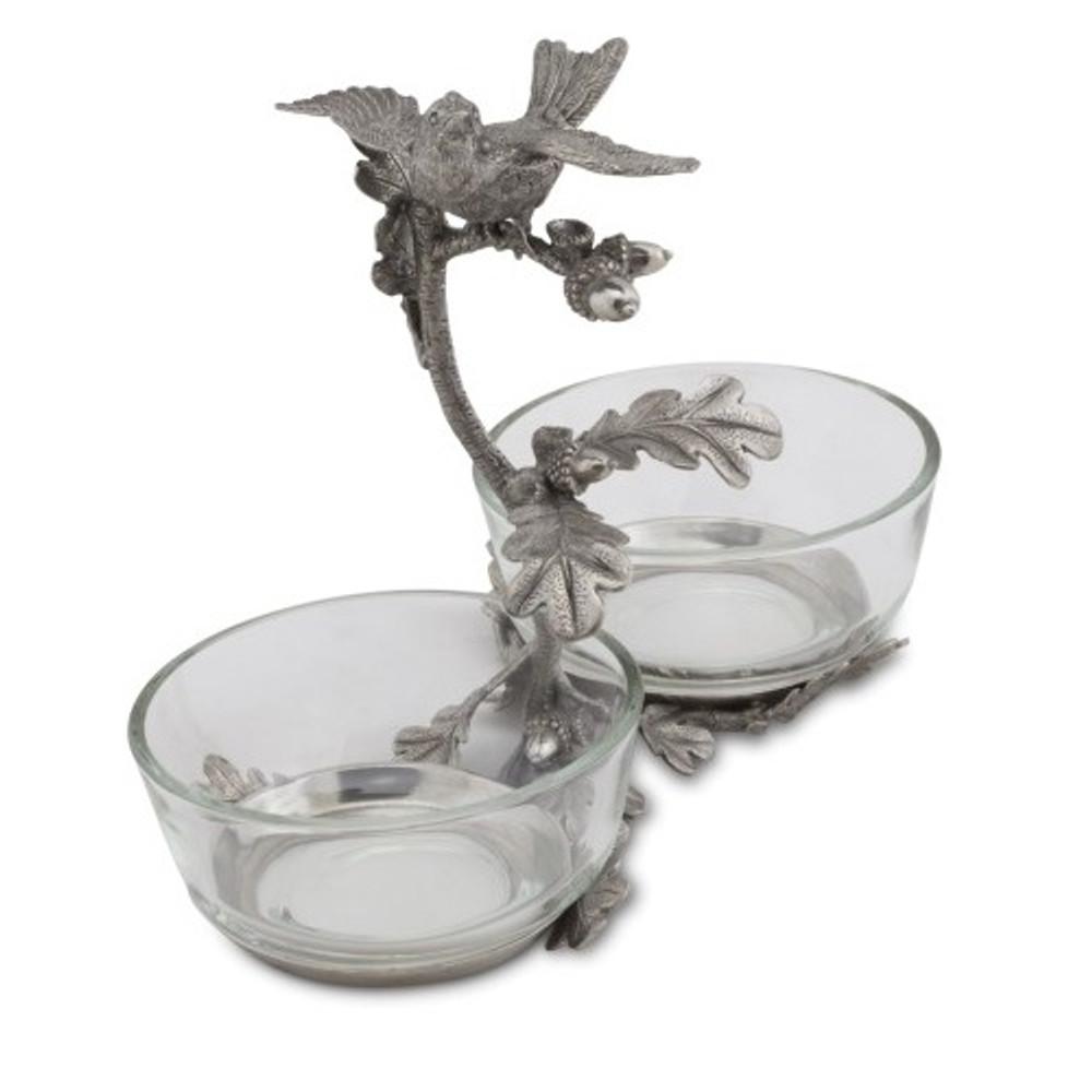 Song Bird Double Condiment Bowl | Vagabond House | K415S -2