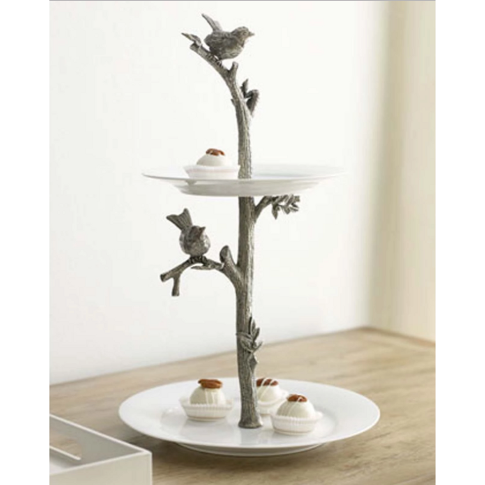 Song Birds Dessert Stand | Vagabond House | K328