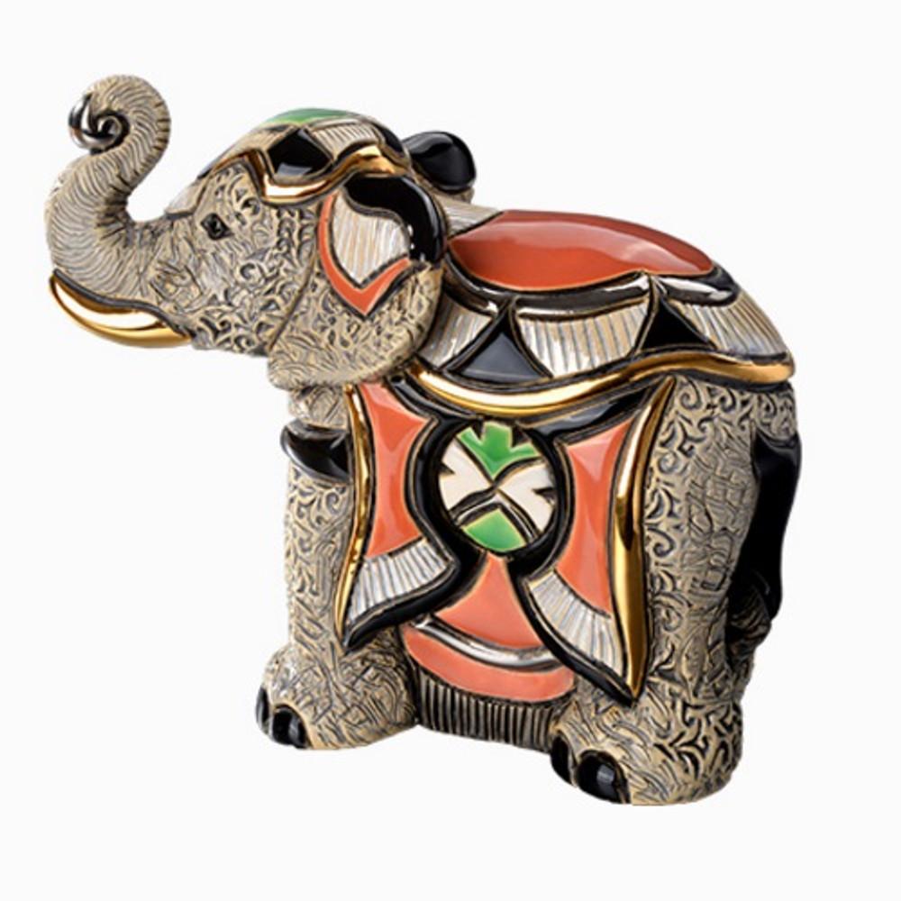 Asian Elephant Figurine | De Rosa | Rinconada | DER1034