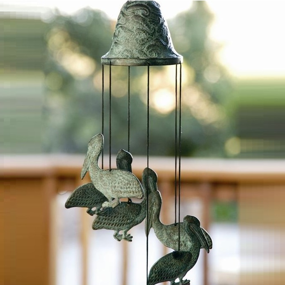 Pelican Wind Chime | 30488 | SPI Home -2