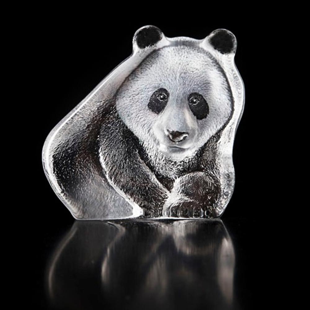Panda Crystal Sculpture | 34195 | Mats Jonasson Maleras