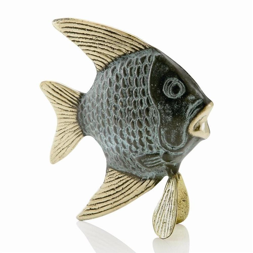 Unique Angelfish Small Sculpture   80169   SPI Home