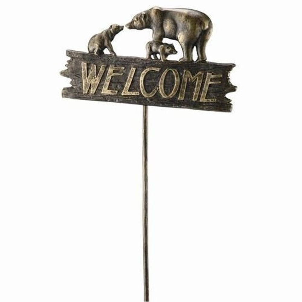 Bear Family Welcome Sign | 33390 | SPI Home