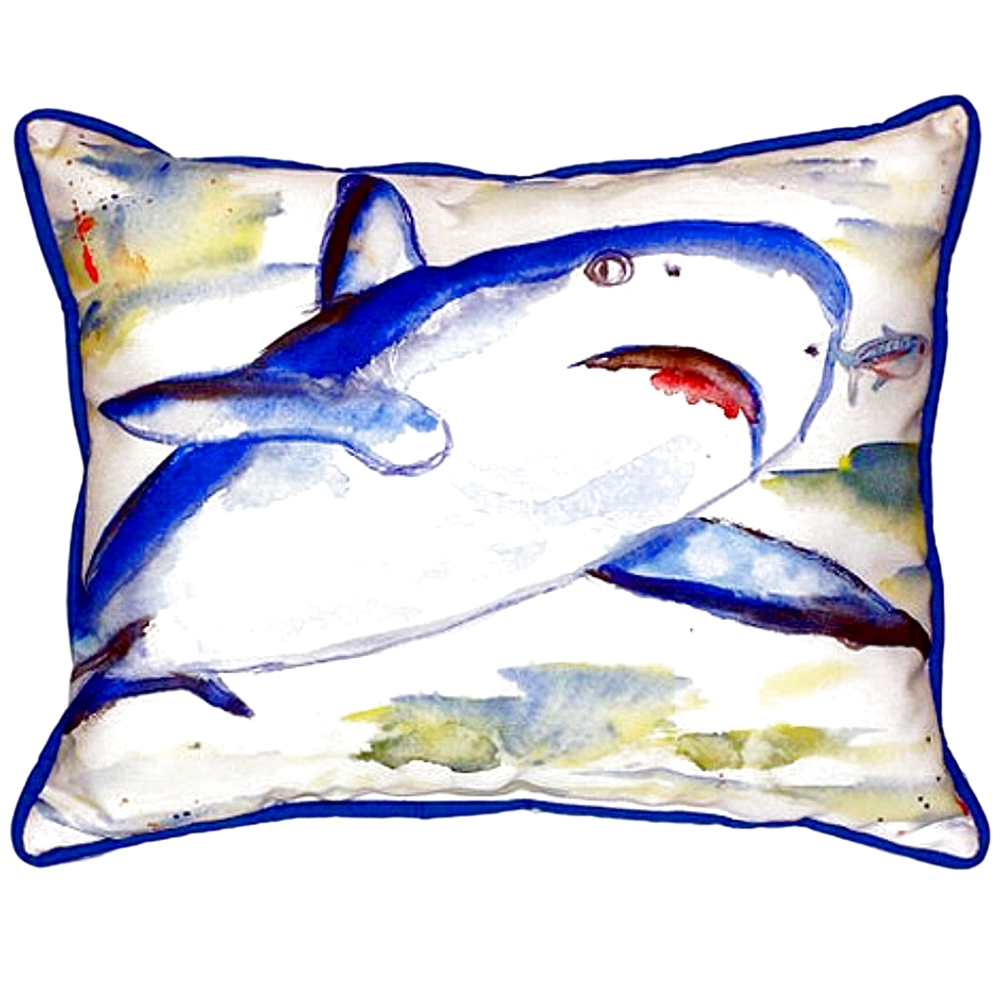 Shark Indoor Outdoor Pillow 20X24 | Betsy Drake | ZP213