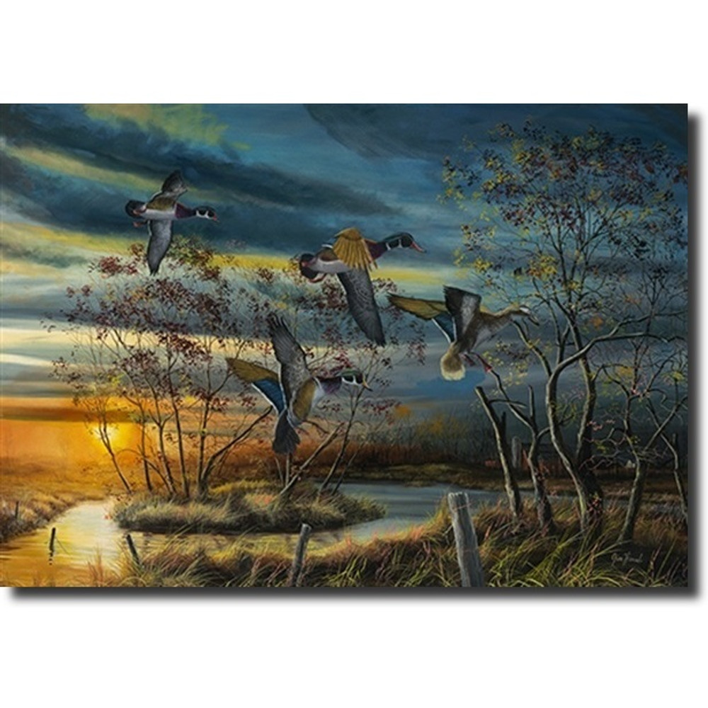 "Duck Print ""Autumn Splendor"" | Jim Hansel | autumnspendor"