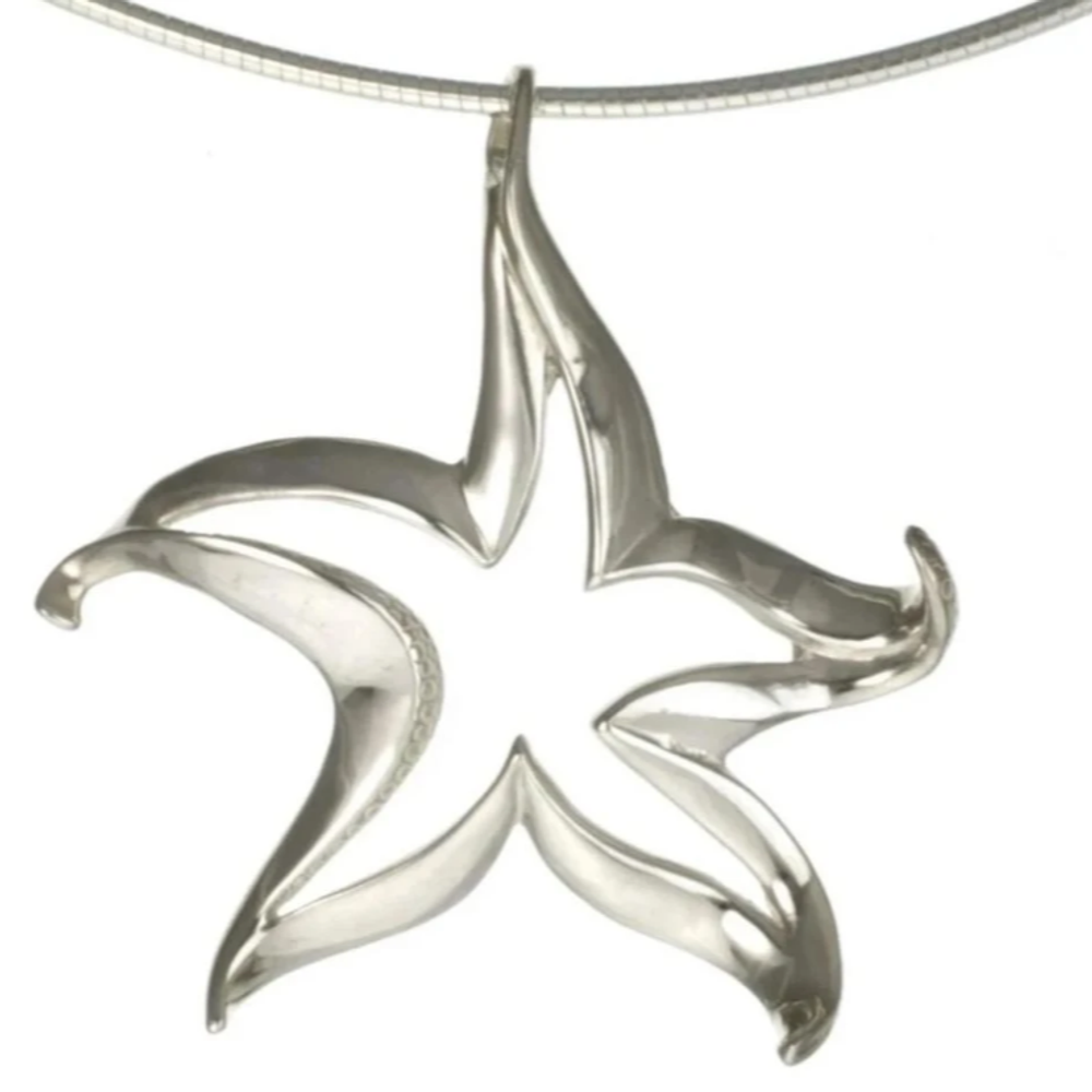 Starfish Pendant Necklace | Big Blue Jewelry | Roland St. John | SFSS-18