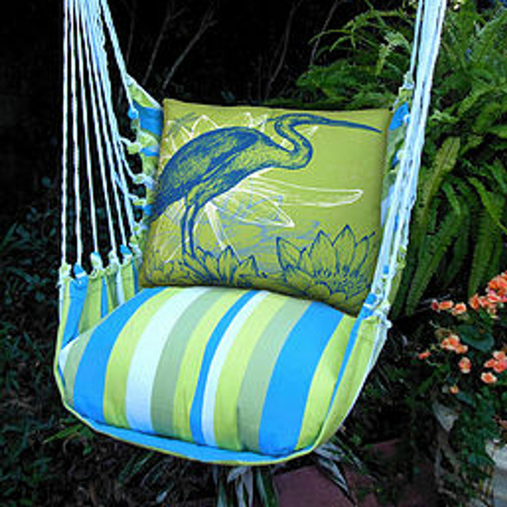 "Blue Heron Hammock Chair Swing ""Beach Boulevard"" 