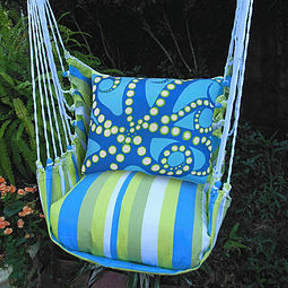 "Octopus Hammock Chair Swing ""Beach Boulevard"" | Magnolia Casual | BBOCBBHP-SP -2"