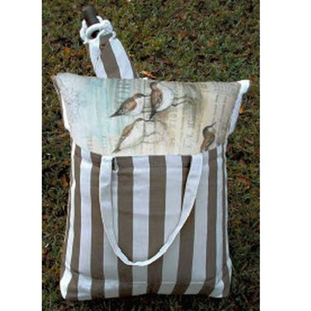 "Dragonfly Striped Hammock Chair Swing ""Striped Chocolate"" | Magnolia Casual | SCRDFL-SP -3"