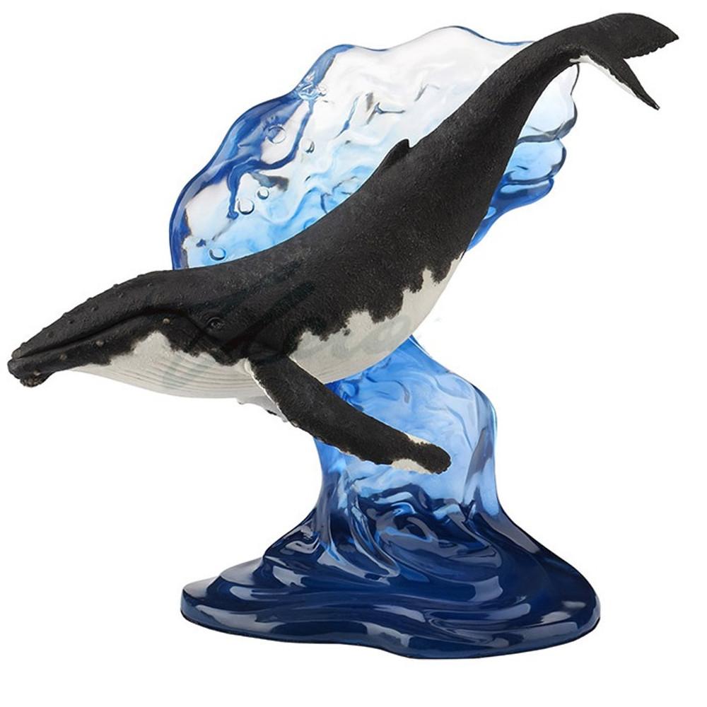 Humpback Whale Sculpture   Unicorn Studios   WU76979AA