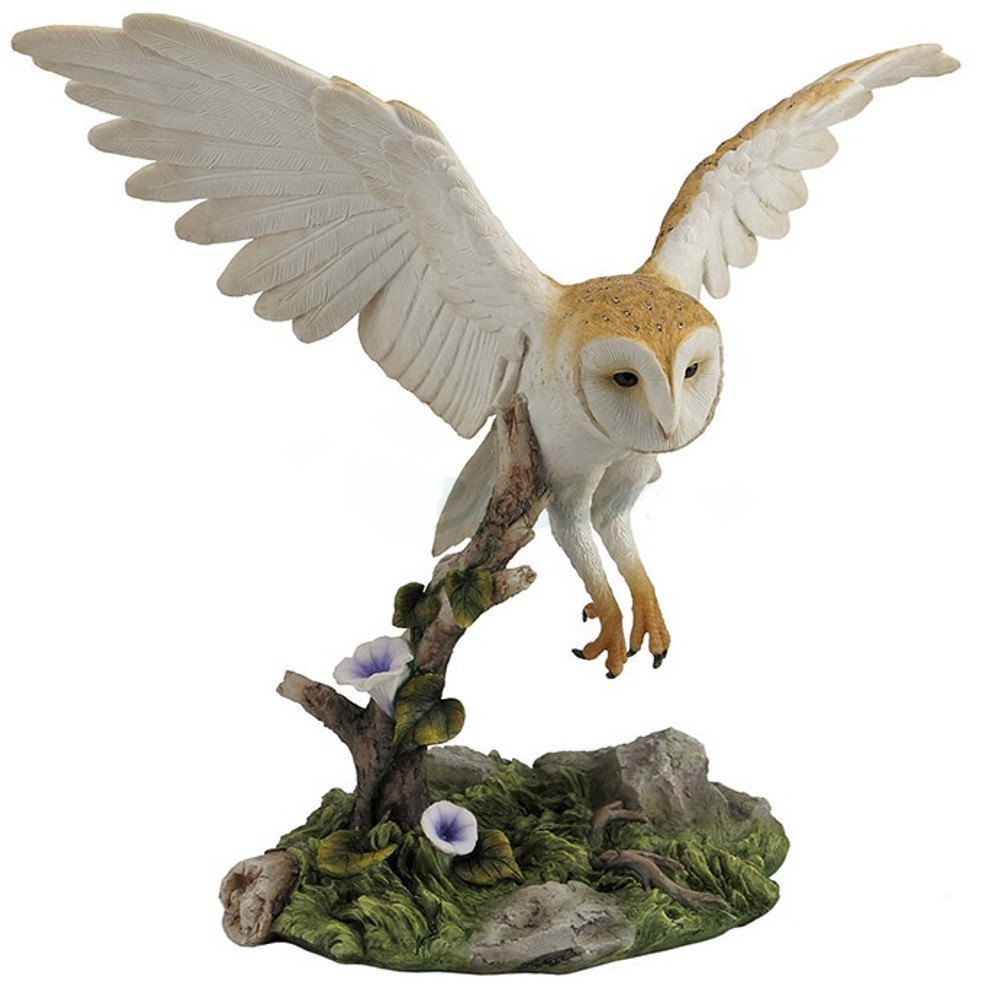 Barn Owl Sculpture   Unicorn Studios   WU76969AA