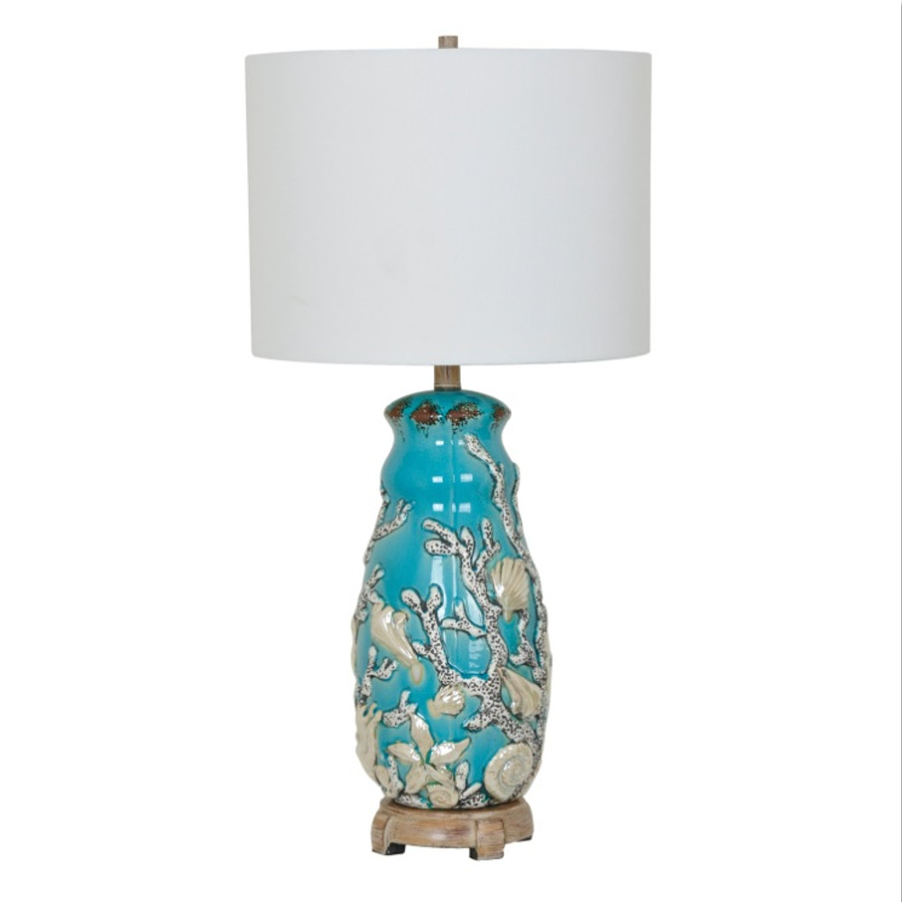 Shell Table Lamp | Crestview Collection | CVAP1916