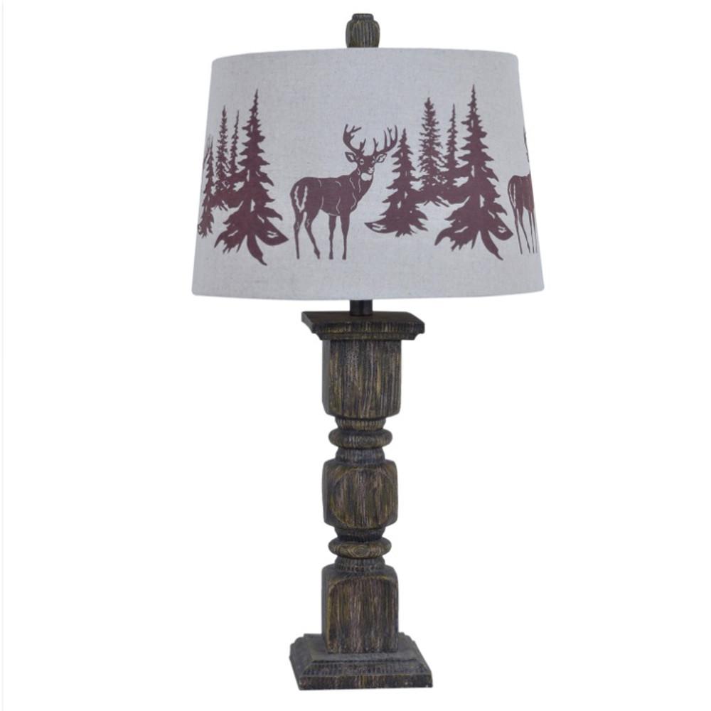 Deer Table Lamp | Crestview Collection | CVAVP456