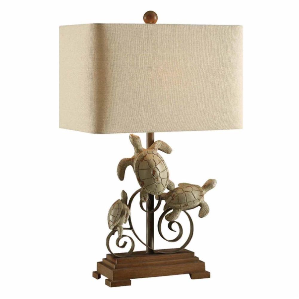 Turtle Table Lamp | Crestview Collection | CVAVP151